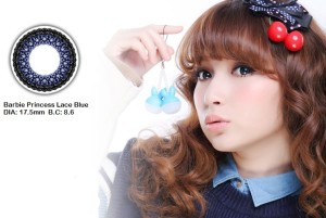 barbie princess lace blue