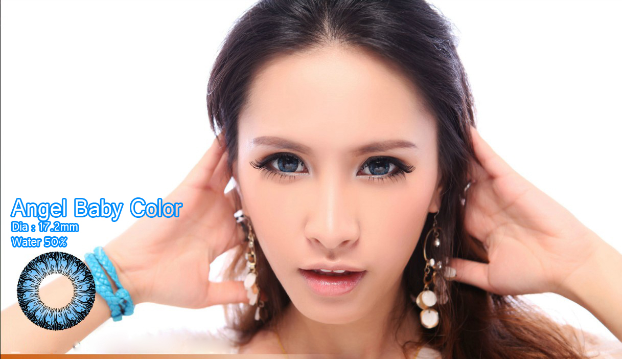 softlens angel baby blue