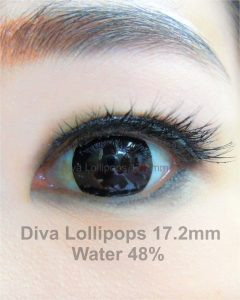 softlens-diva-lollipops-black