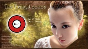 twilight softlens red