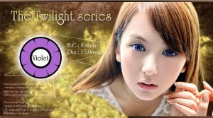 twilight softlens violet
