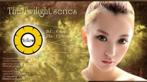 twilight softlens yellow