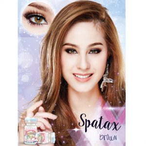 spatax brown softlens
