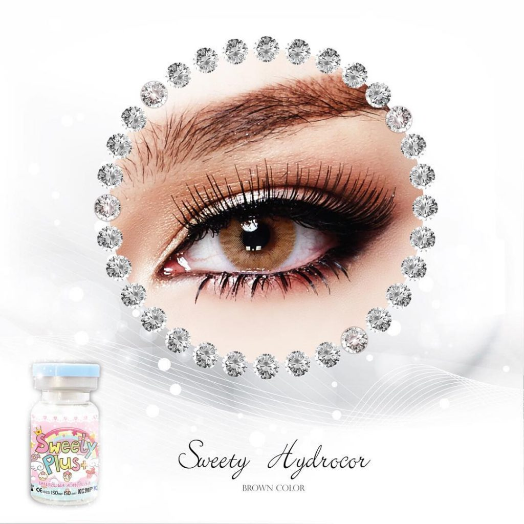 sweety hydrocor brown lens