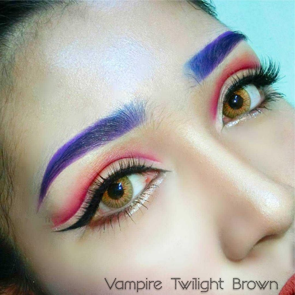 vampire twilight brown lens
