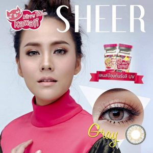 SOFTLENS_KITTY_KAWAI_MINI_SHEER_GRAY
