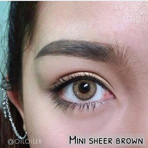 mini sheer brown by kitty kawaii