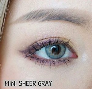 softlens mini sheer gray