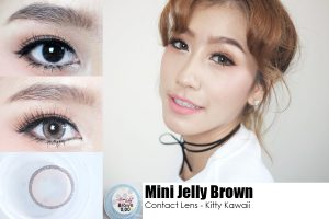 Kitty Kawaii Mini Jelly Brown2
