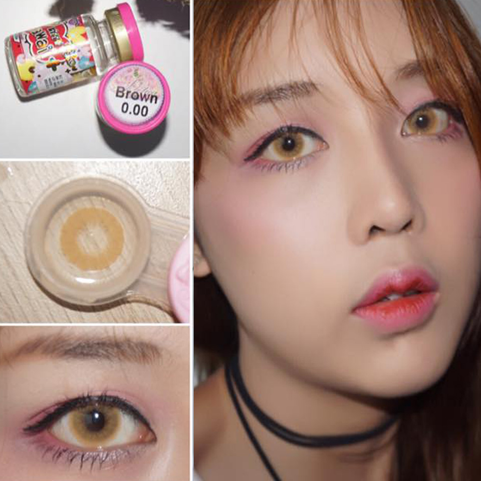 Softlens-Kitty-Kawaii-Solotica-Brownn